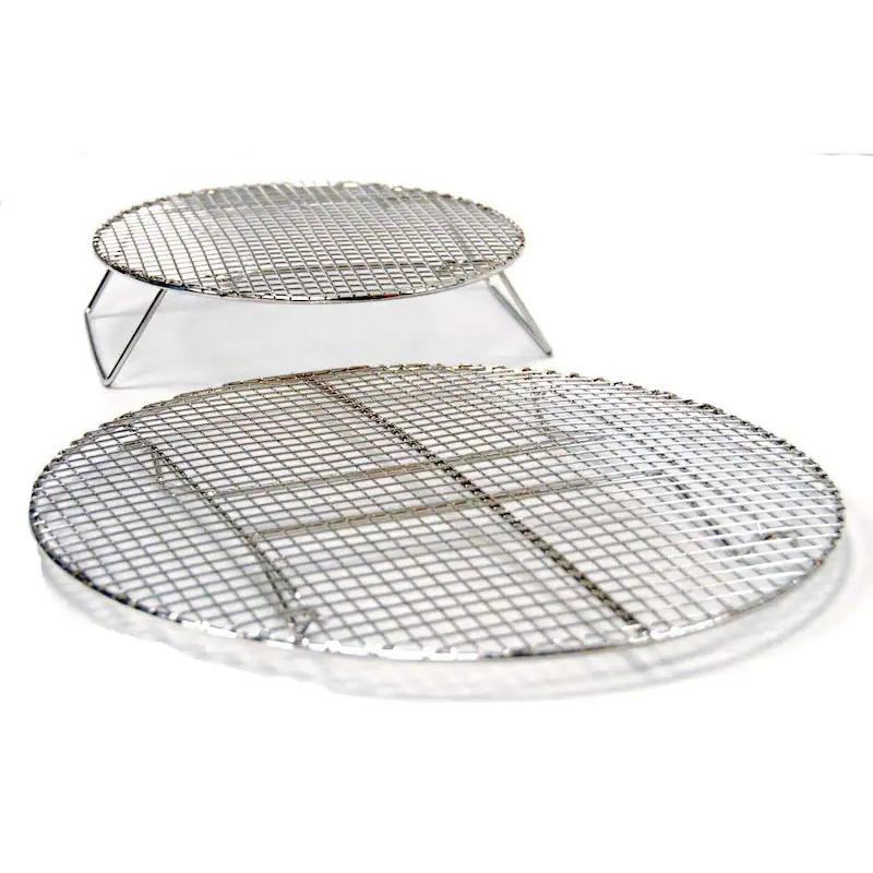 Evo Circular Stainless Roasting & Baking Racks - Set Of 2 Sizes -12-0117-AC