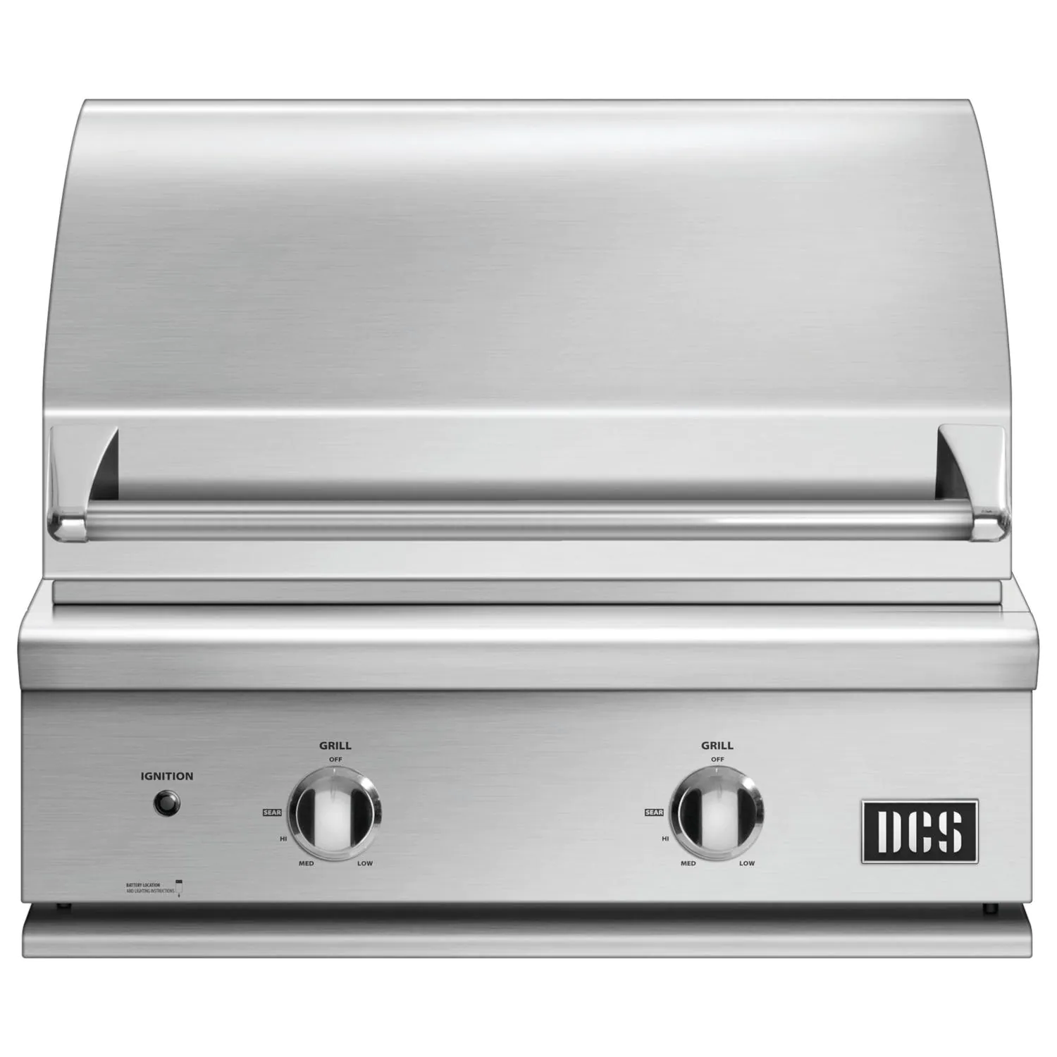 """DCS Series 7 Traditional 30"""" Built-In Natural Gas Grill - BGC30-BQ-N"""