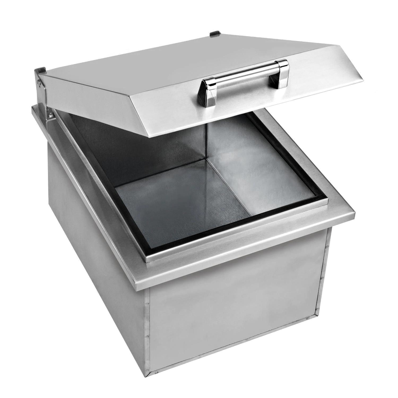 Delta Heat 15-Inch Drop-In Stainless Steel Ice Bin Cooler - DHOC15D