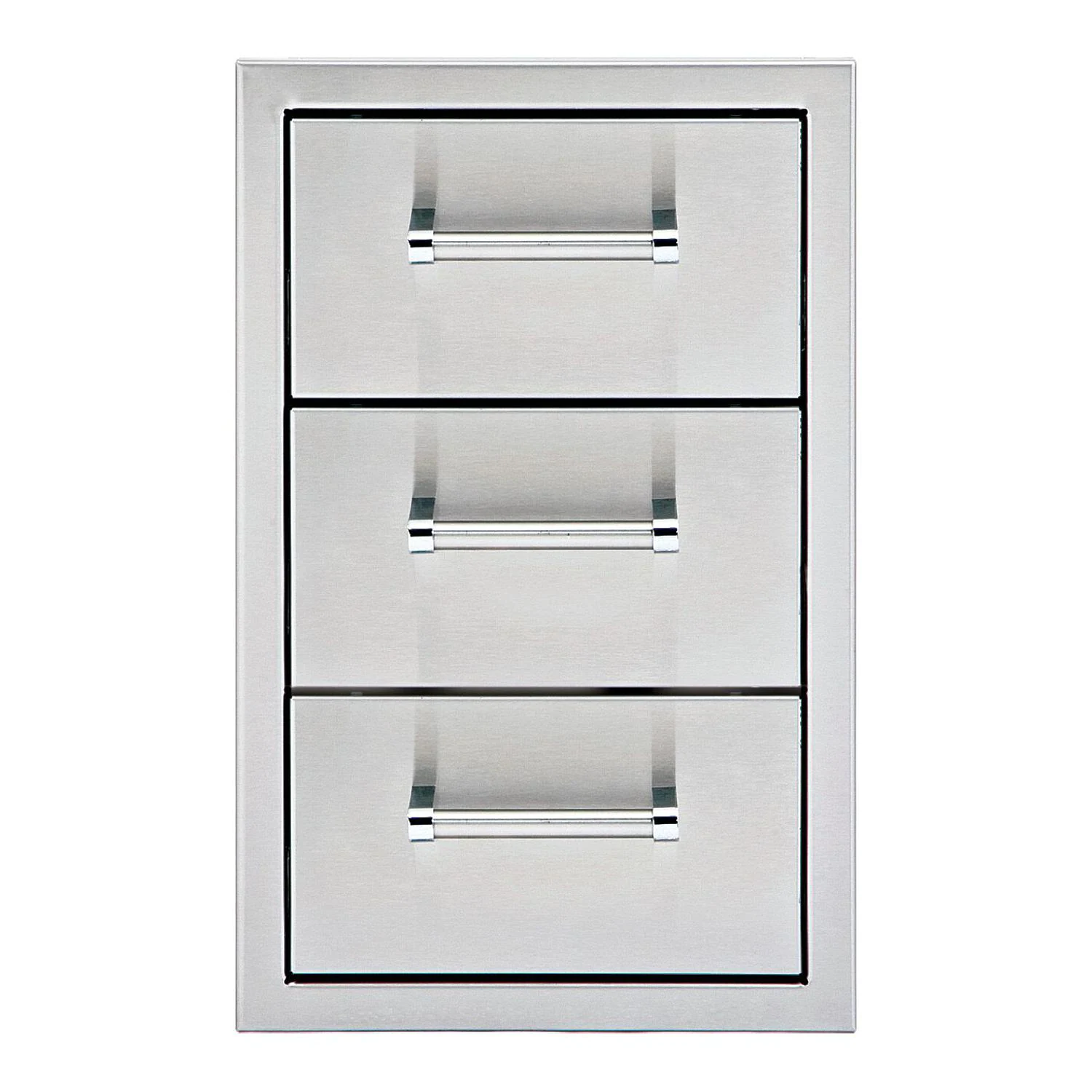 Delta Heat 13-Inch Stainless Steel Triple Access Drawer - DHSD133-B