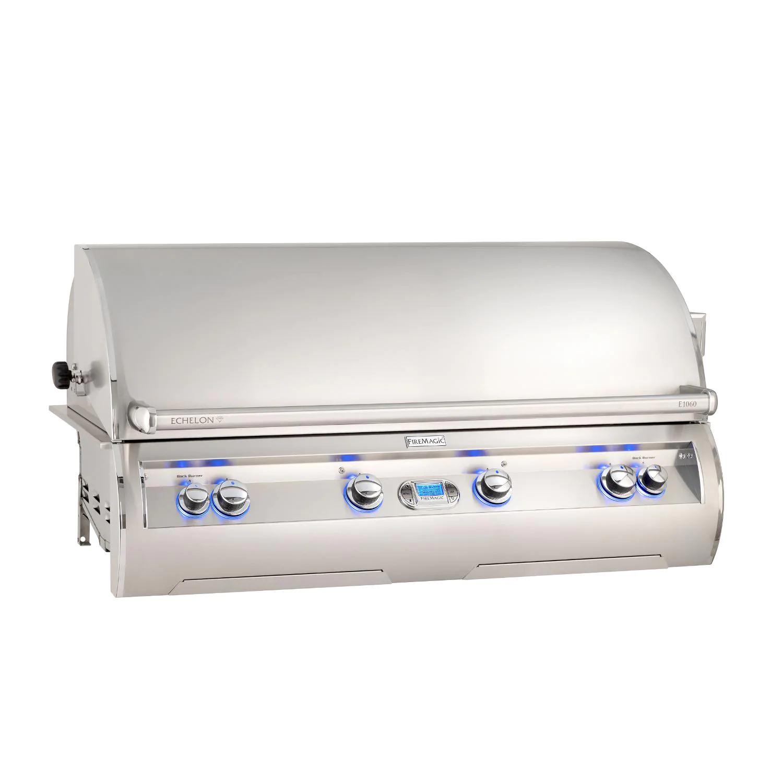 """Fire Magic E1060I-8E1P Echelon Diamond E1060I 48"""" Built In Propane Gas Grill  With Rotisserie And Digital Thermometer"""