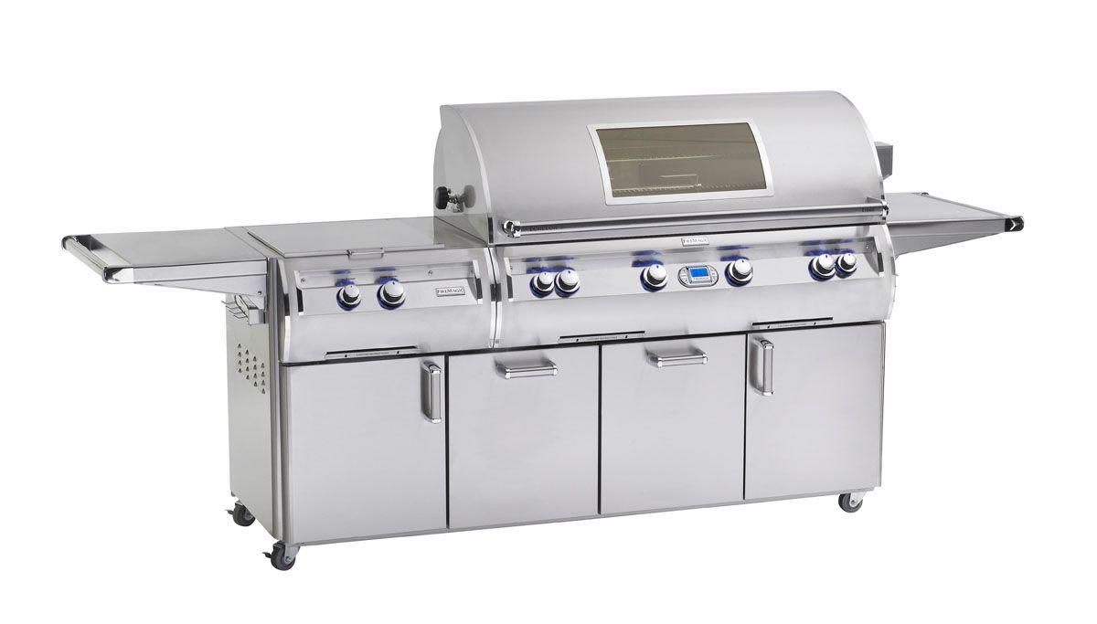 """Fire Magic E1060S-8E1P-51-W Echelon Diamond E1060S 48"""" Freestanding Propane Gas Grill W/ Power Burner, Rotisserie And Digital Thermometer"""