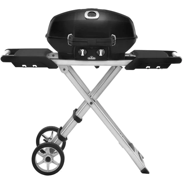 Napoleon TravelQ Pro 285X Portable Freestanding Propane Gas Grill - Black - PRO285X-BK