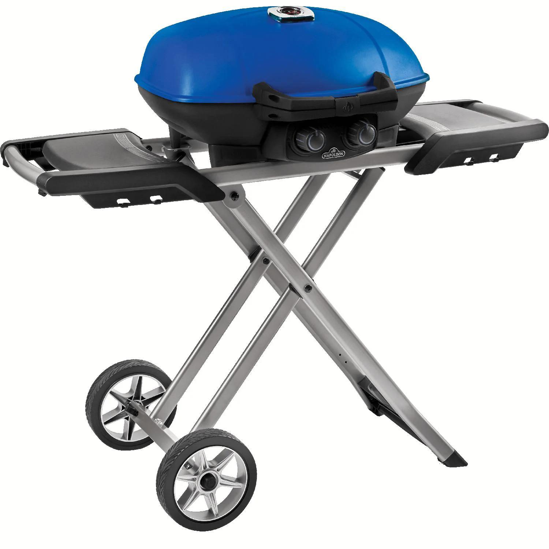 Napoleon TravelQ 285X Portable Freestanding Propane Gas Grill - Blue - TQ285X-BL-1