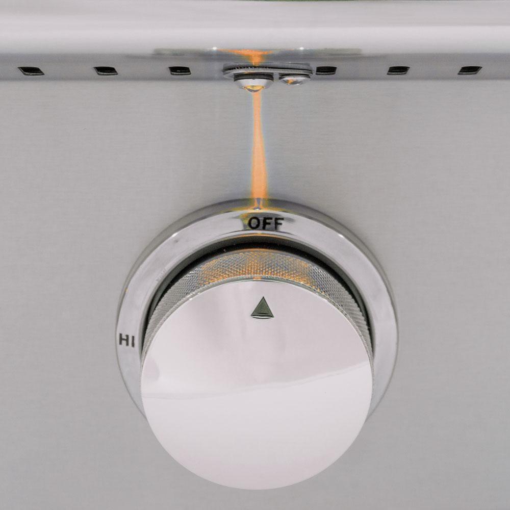 Blaze Amber LED 3 Piece Set for Power Burner, Griddle, Double Side Burner - BLZ-2LED-AMBER