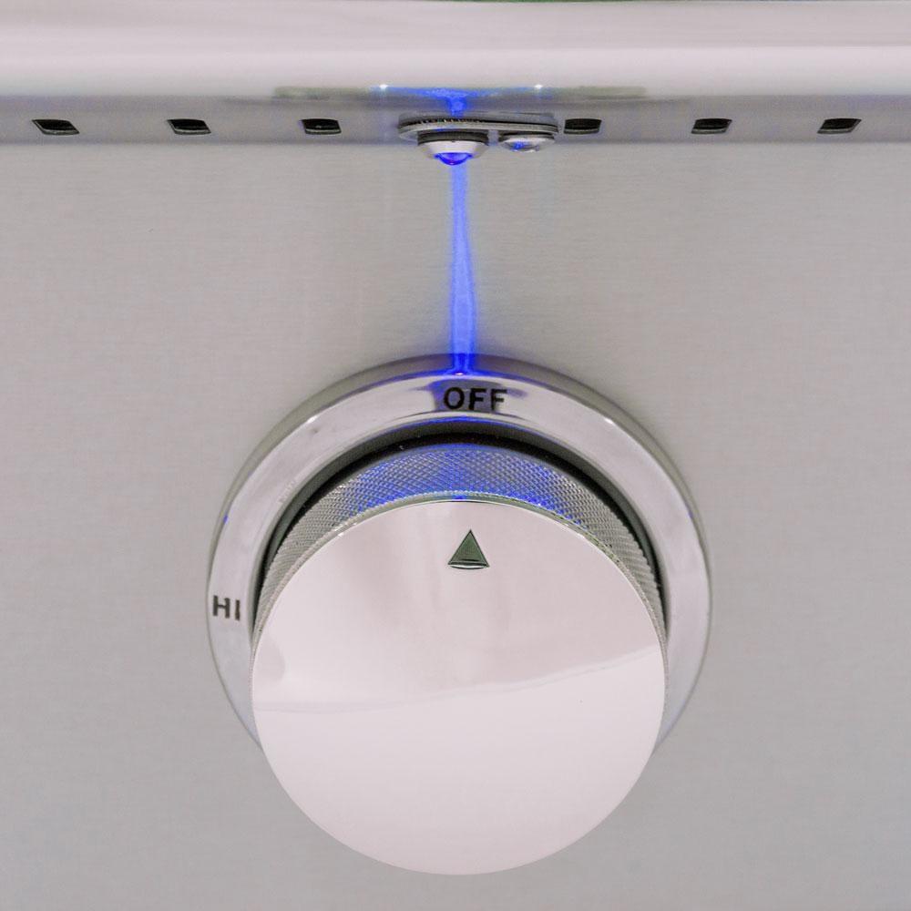 Blaze Amber LED 3 Piece Set for Power Burner, Griddle, Double Side Burner - BLZ-2LED-BLUE