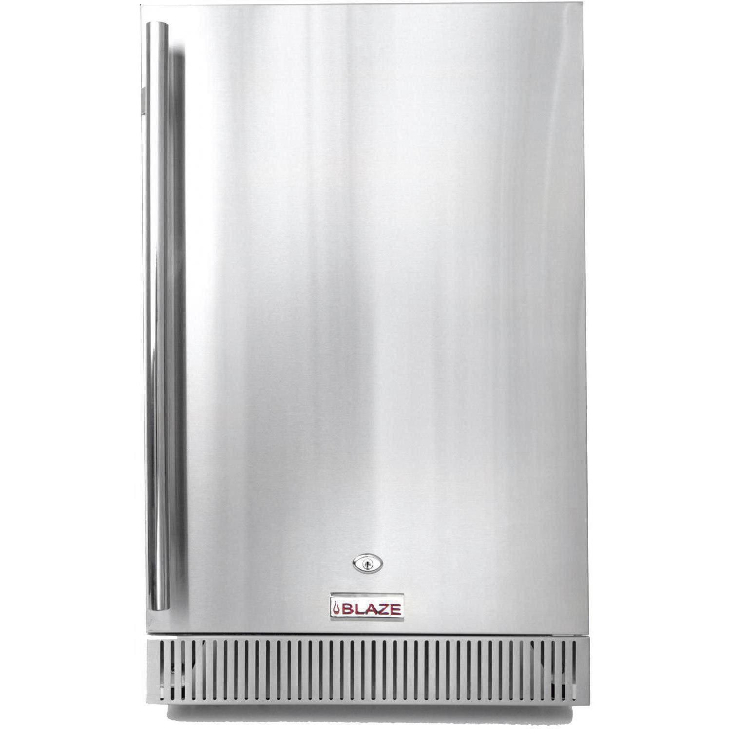 Blaze 20-Inch 4.1 Cu. Ft. Outdoor Rated Compact Refrigerator - BLZ-SSRF-40DH