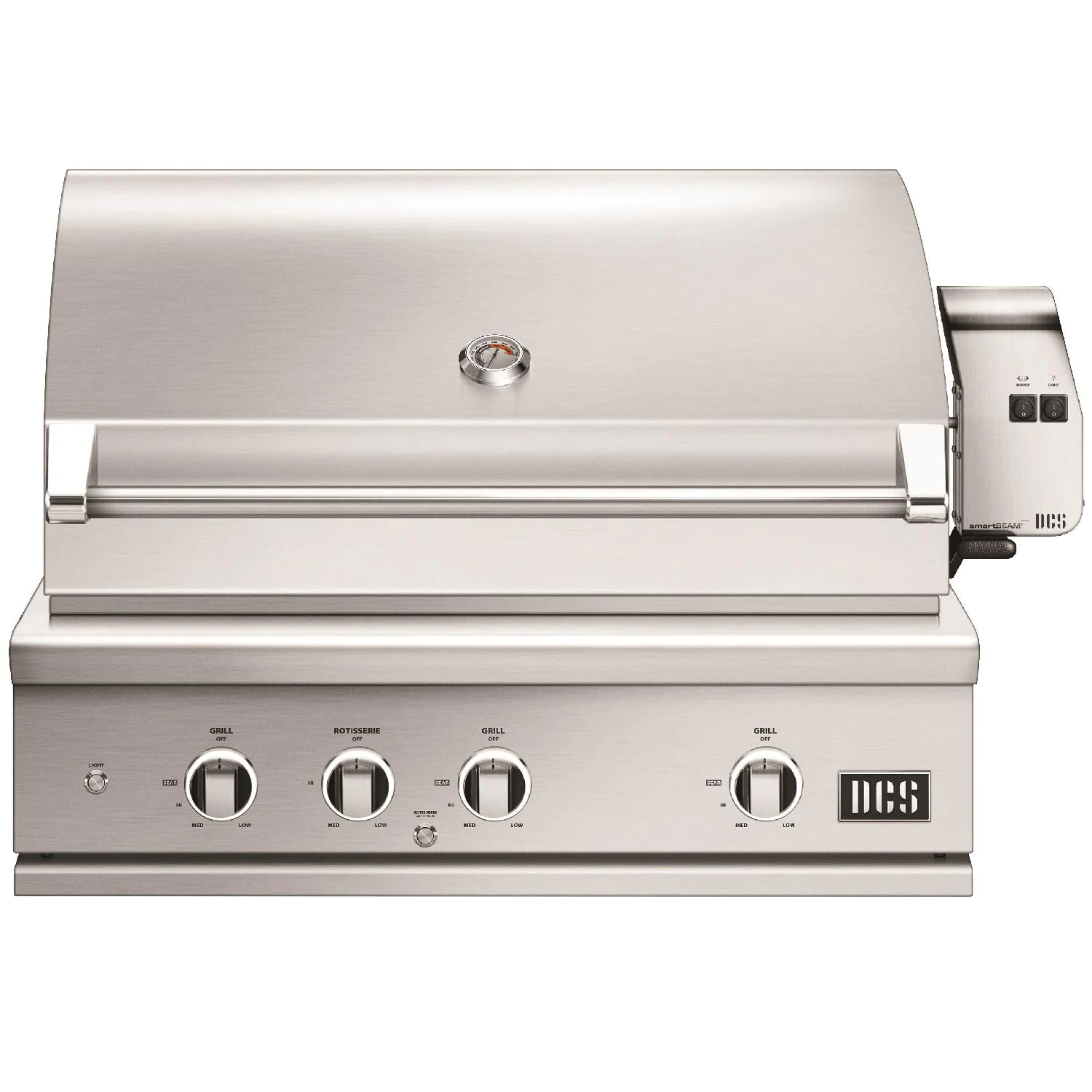 """DCS Series 9 Evolution 36"""" Built-In Propane Gas Grill With Rotisserie - be1-36rc-l"""