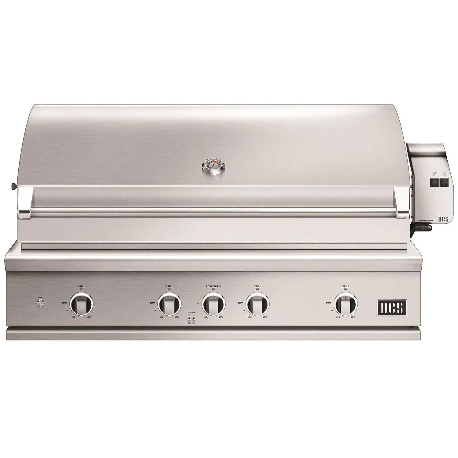 """DCS Series 9 Evolution 48"""" Natural Gas Grill W/ Rotisserie, Cart, & Grill Cover - be1-48rc-n"""