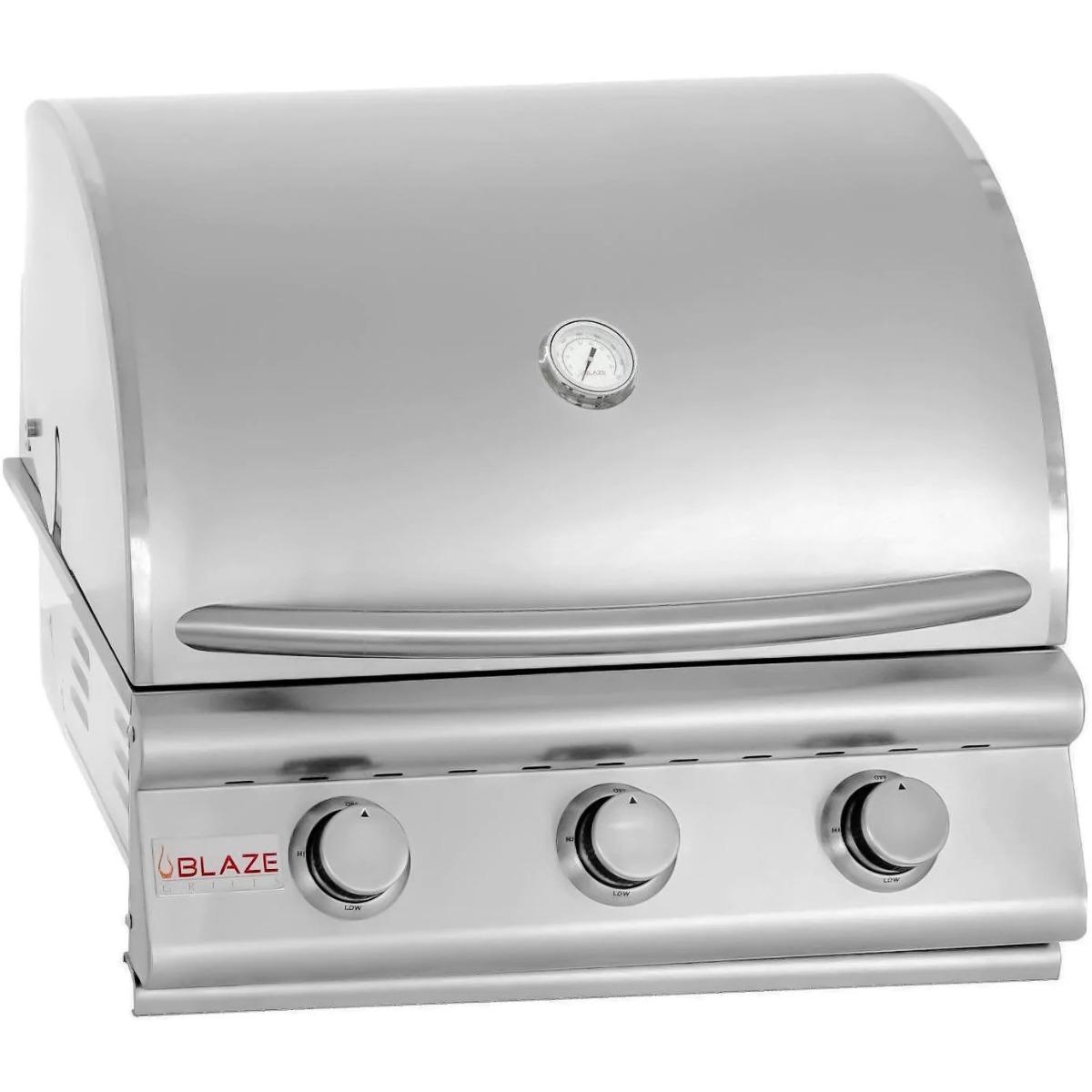 """3 Burner LBM Built In Propane Blaze Grill (25"""")"""