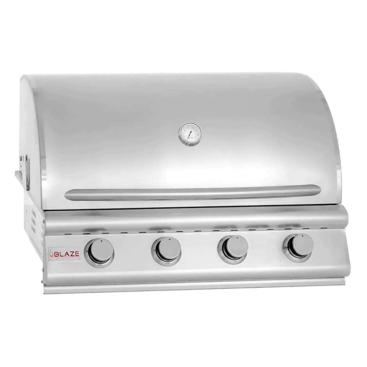 4 Burner LBM Built In Propane Blaze Grill (32 Inches) blz-4-lbm-lp-rt