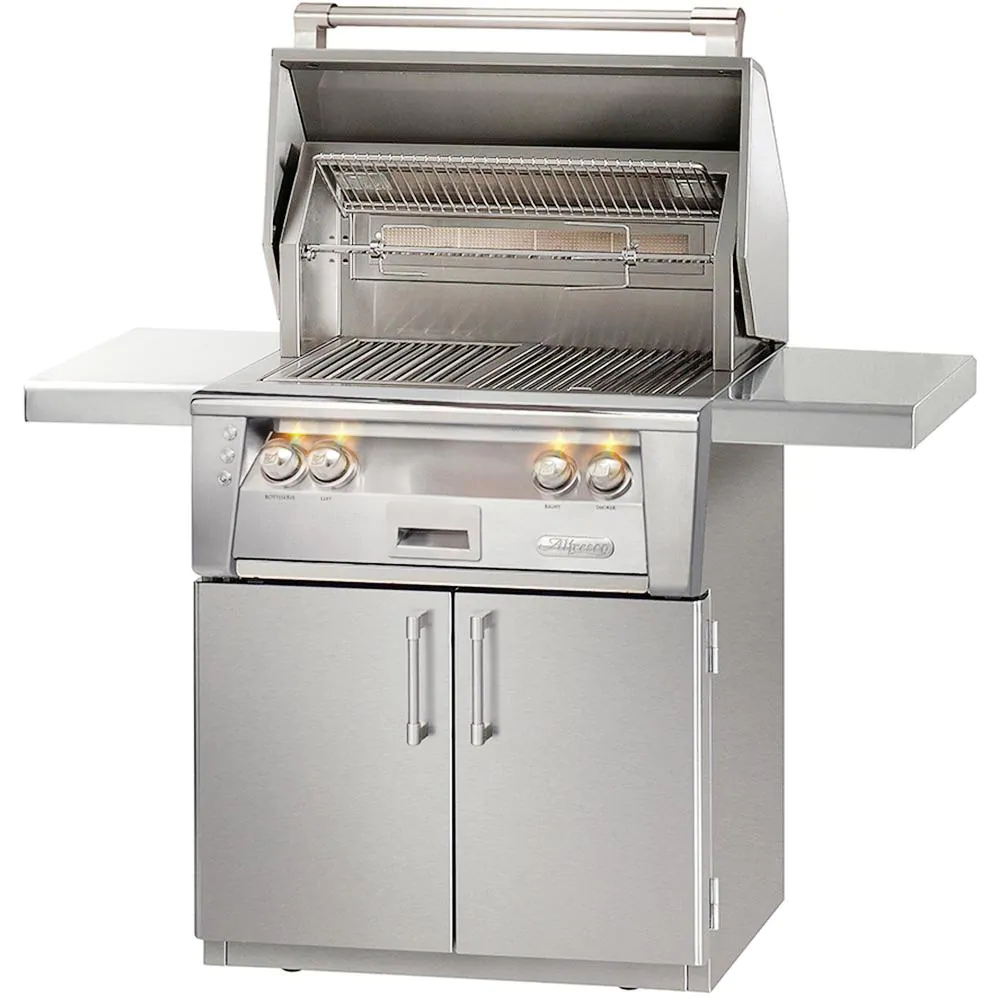 """Alfresco ALXE 30"""" Natural Gas Grill With Rotisserie - ALXE-30C-NG"""