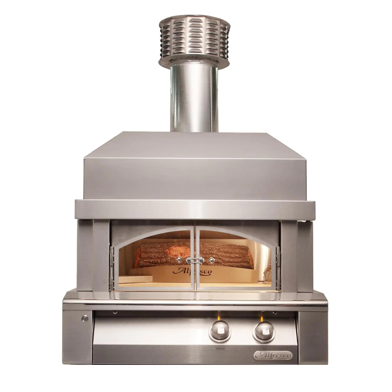 "Alfresco 30"" Built-In Propane Gas Outdoor Pizza Oven Plus - AXE-PZA-BI-LP"
