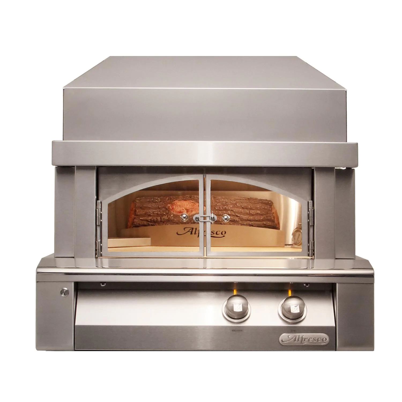 """Alfresco 30"""" Countertop Propane Gas Outdoor Pizza Oven Plus - AXE-PZA-LP"""