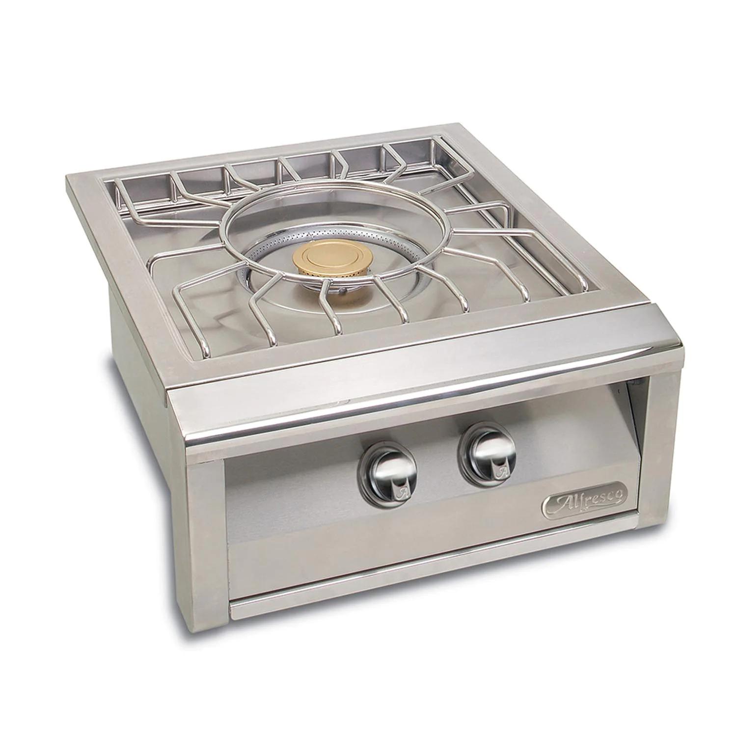 "Alfresco 24"" Natural Gas Versa Power Cooking System - AXEVP-NG"