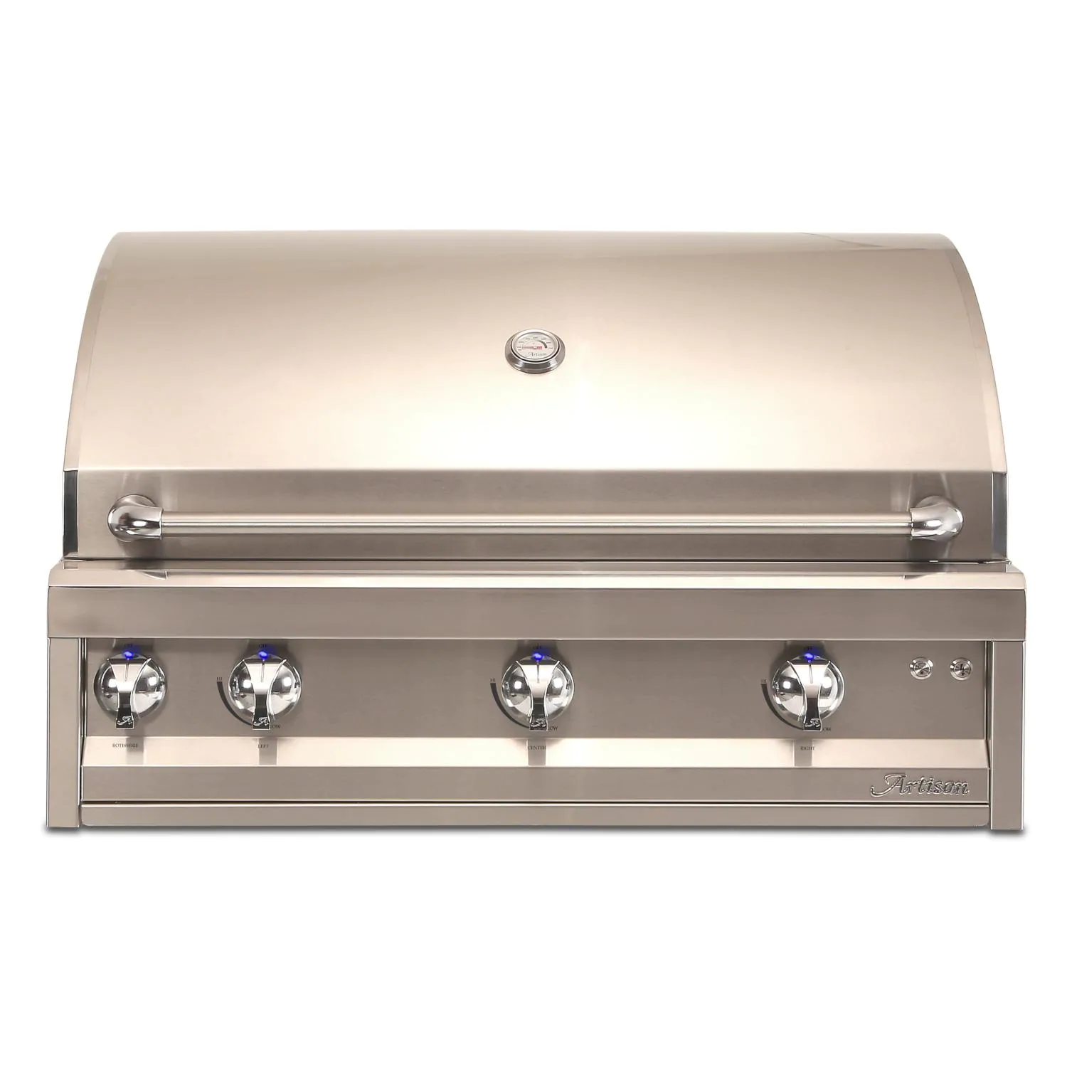 """Artisan Professional 36"""" 3-Burner Built-In Natural Gas Grill With Rotisserie - ARTP-36-NG"""