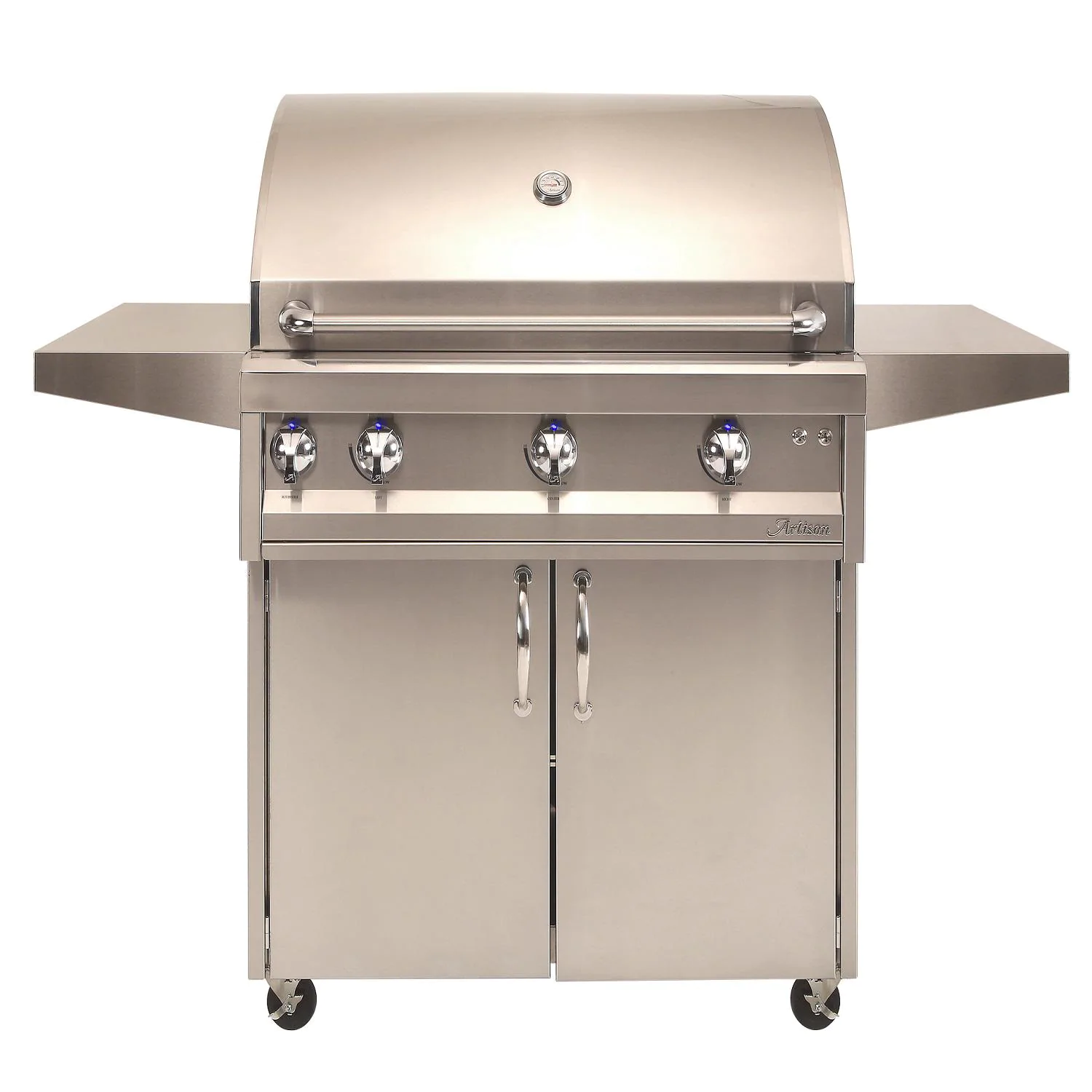 """Artisan Professional 36"""" 3-Burner Freestanding Natural Gas Grill With Rotisserie - ARTP-36C-NG"""