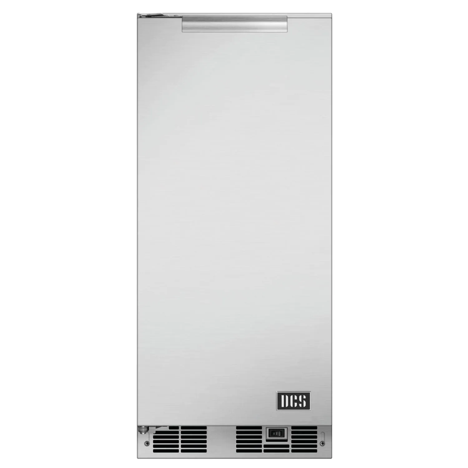 """DCS 35 Lb. 15"""" Left Hinge Outdoor Rated Ice Maker - RF15IL1"""