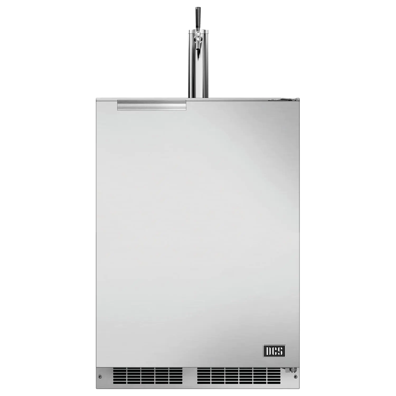 "DCS 24""  5.7 Cu. Ft. Left Hinge Outdoor Rated Single Tap Beer Dispenser / Kegerator - RF24TL1"
