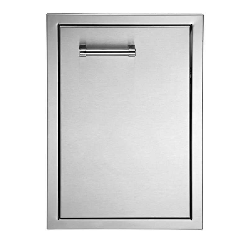 Delta Heat 22-Inch Right Hinged Stainless Steel Single Access Door - Horizontal - DHAD22R-C